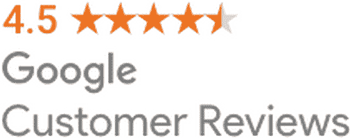 4.5 Stars - Google Customer Reviews