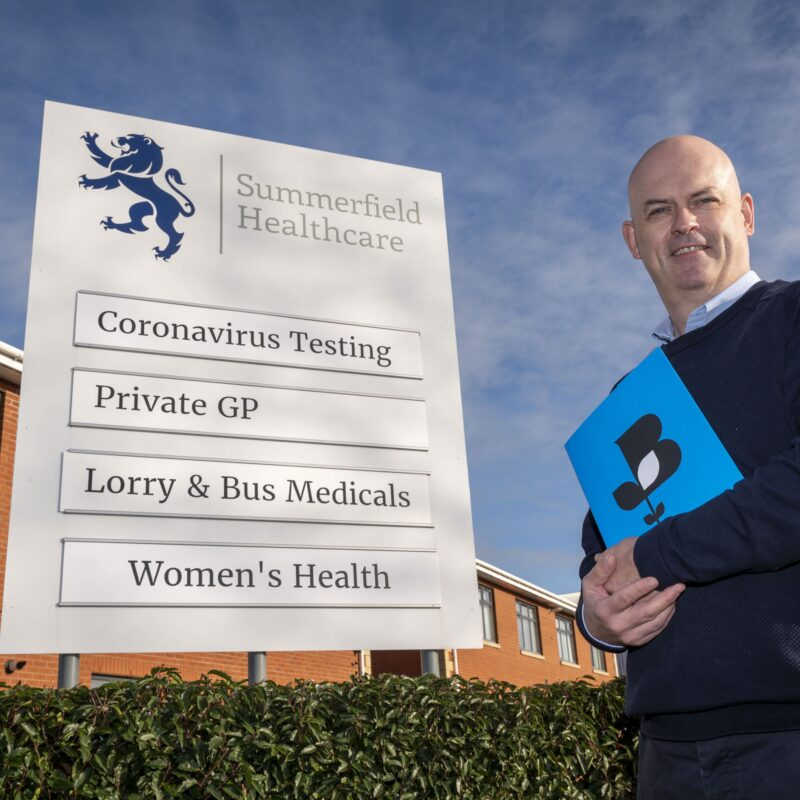 Dave Edwards, representing Summerfield Healthcare